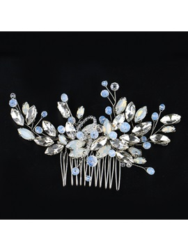 Hot Sale Shiny Zircon Decorated Wedding Hair Comb