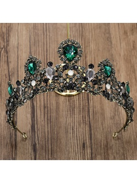 Tiara Korean Gemmed Hair Accessories (Wedding)
