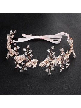 European Crystal Inlaid Hairband Hair Accessories (Wedding)
