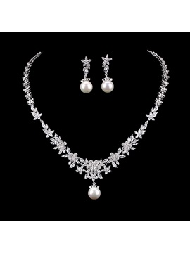 European Spherical Gemmed Jewelry Sets (Wedding)