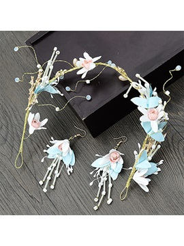 Necklace Korean Handmade Jewelry Sets (Wedding)