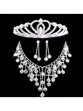 Necklace Korean Floral Jewelry Sets (Wedding) & vintage Wedding Accessories