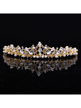 Crown E-Plating Tiara Hair Accessories (Wedding)