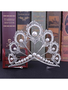 Diamante Crown European Hair Accessories (Wedding)