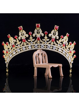 Diamante Vintage Crown Hair Accessories (Wedding)