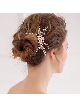 E-Plating Hair Comb Floral Hair Accessories (Wedding)