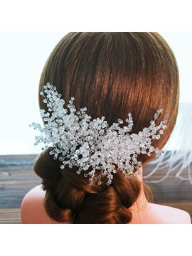 Handmade Hair Comb Hair Accessories (Wedding)