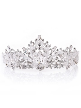 Crown Korean Diamante Hair Accessories (Wedding)
