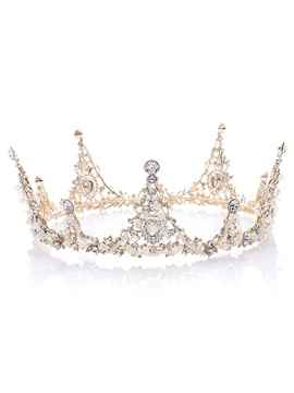 Diamante European Crown Hair Accessories (Wedding)