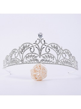 Diamante Crown Tiara Hair Accessories (Wedding)