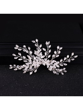 Barrette Korean Leaf Hair Accessories (Wedding)