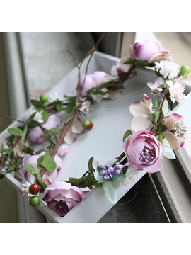 Korean Floral Hairband Hair Accessories (Wedding)