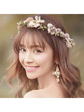 Floral European Hairband Hair Accessories (Wedding)