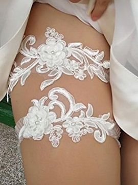 Floral Lace Lace Garters & unusual Wedding Accessories
