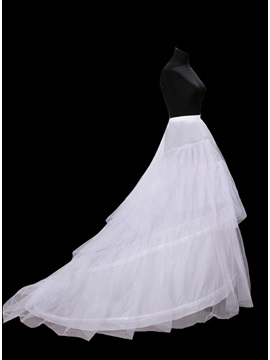 Charming Cloth Long Tailing Wedding Petticoats