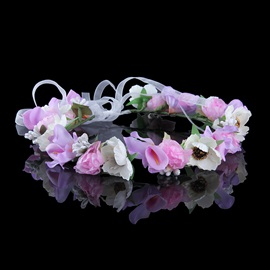 Stunning Flower High-Grade Manual Bridal Garland