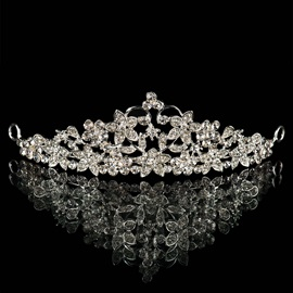 Fashionable Rhinestone Wedding Tiara