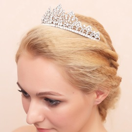 Beautiful Rhinestone and Alloy Bridal Tiara