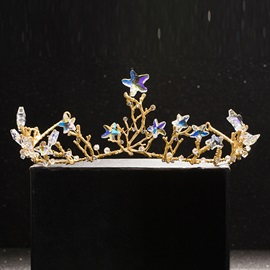 Shining Stars Embellished Alloy Wedding Tiara