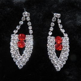 Korean Necklace Floral Jewelry Sets (Wedding)