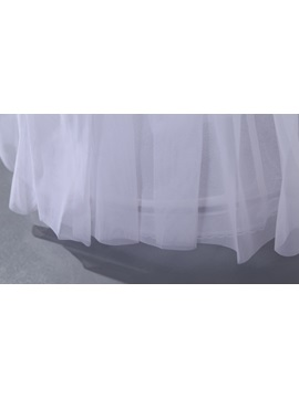 Mermaid Style Organza Single Wire Wedding Petticoat