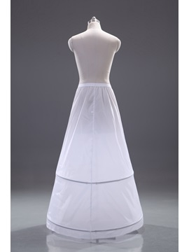 Delicate A-Line Sweep Train Wedding Petticoat