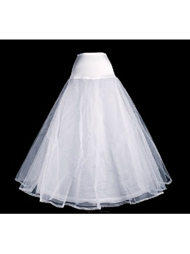 Plain A-Line Tulle Wedding Petticoats
