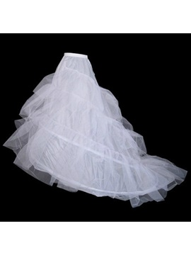 4 Layers Organza Tailing Wedding Petticoat