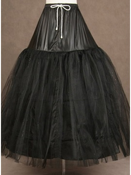 Pretty Black Tulle Ball Gown Wedding Petticoat