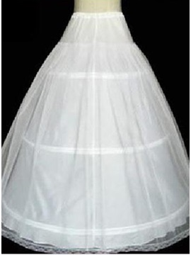 Double Layers Gauze Ball Gown Wedding Petticoat