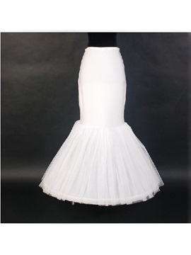 Fish Tailing Organza Mermaid Wedding Petticoats