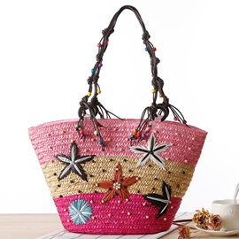 Beautiful Starfish Pattern Tote Bag for Women