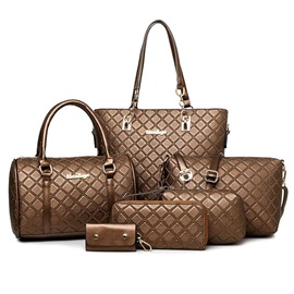 Chic with Letters Women Bag Set