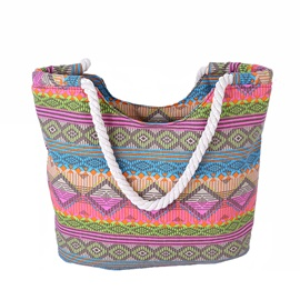 Stylish Canvas Pattern Women's Tote Bag