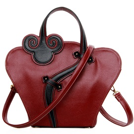 Classic Ethnic Thread Decorated Women Satchel
