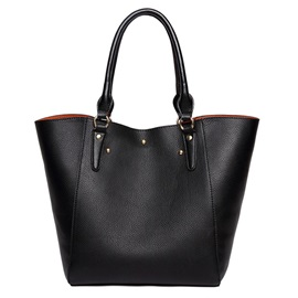 Occident Style PU Leather Tote Bag