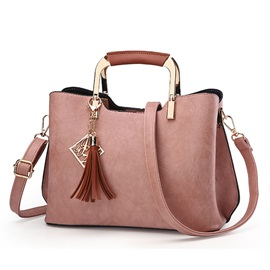 Fashion Tassel Pendant Women Satchel