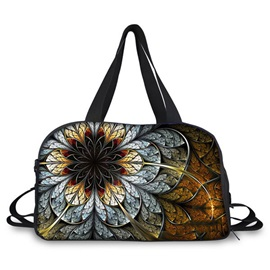 High-capacity Floral Printing Travelling Bag