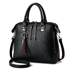 Occident Style Tassel Adornment Women Satchel