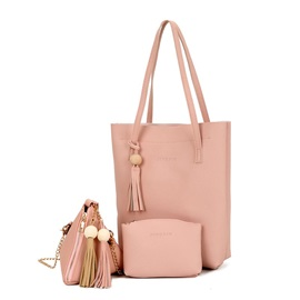 Occident Style Soft PU Zipper Women Satchel