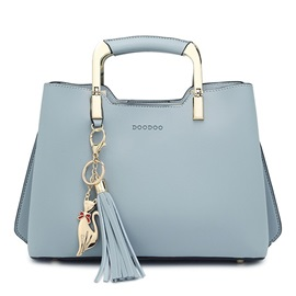 Concise Exquisite Tassel Pendent Women Satchel