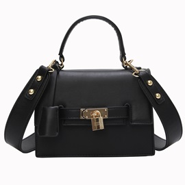 Occident Style Lock Decoration Women Kelly Bag