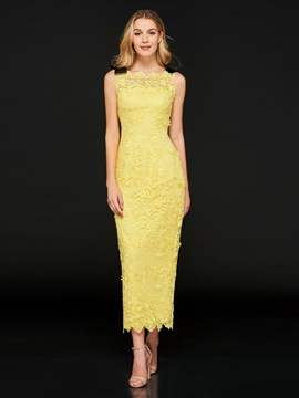 Sheath Lace Off-the-Shoulder Cocktail Dress 2019