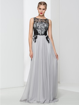 Timeless Straps Appliques Lace Long Evening Dress & inexpensive Evening Dresses