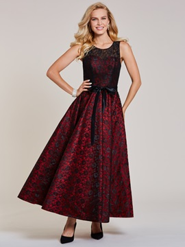 Scoop Lace A Line Evening Dress & Evening Dresses for less