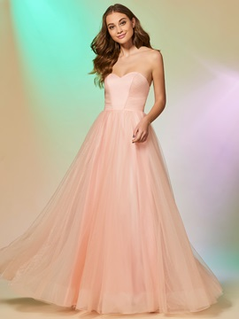 Charming Sweetheart Beading Sleeveless A-Line Floor-Length Prom Dress