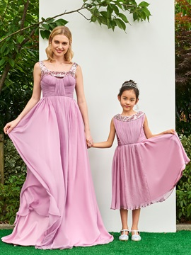 Attractive Straps Sequins Ruched Floor-Length Prom Dress & Prom Dresses from china