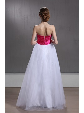 Hot Selling A-Line Empire Waistline Strapless Beading Maria's Quinceanera Dress