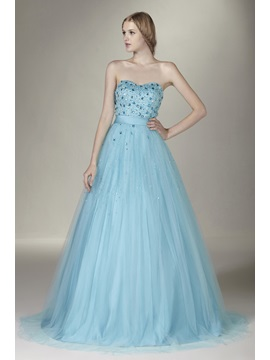 Gorgeous Sweetheart Beading Lace-up Sasha's Quinceanera Dress