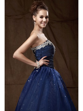 Vintage Sweetheart Appliques Sequins A-Line Sandra's Quinceanera Dress